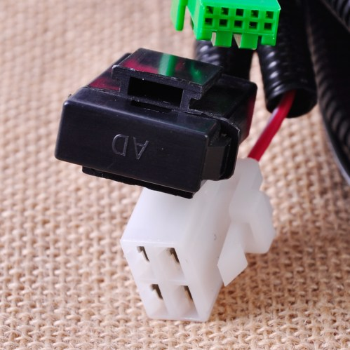 small resolution of wiring harness sockets connector switch for h11 fog light lamp ford focus nissan 728360607010 ebay