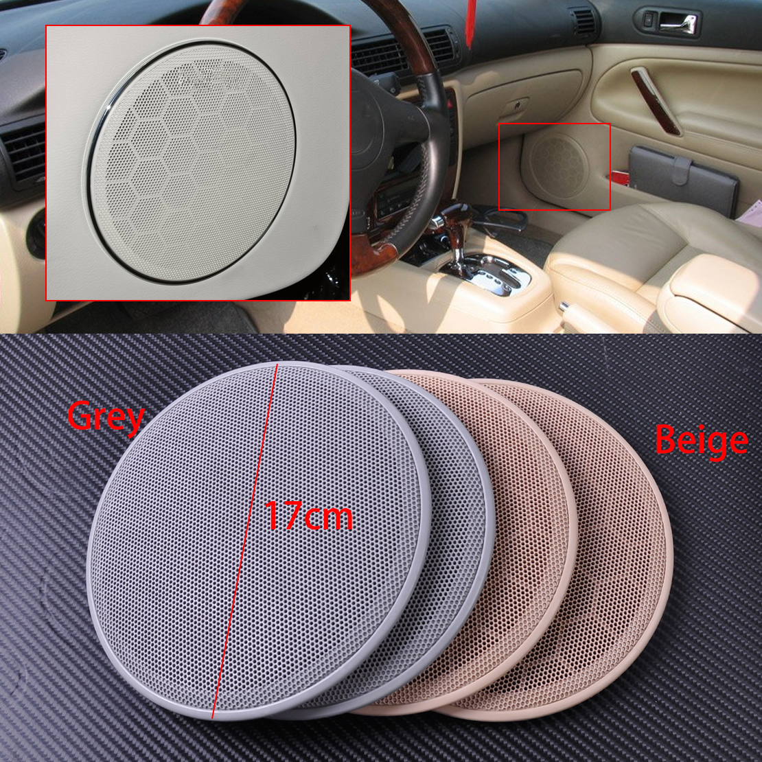 hight resolution of details about new door speaker cover grill fit for vw jetta mk4 passat b5 golf gti 1999 2005