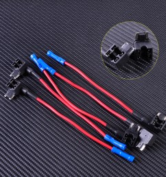 details about 5x add a circuit blade style atm tap piggy mini fuse holder fit micro blade fuse [ 1110 x 1110 Pixel ]