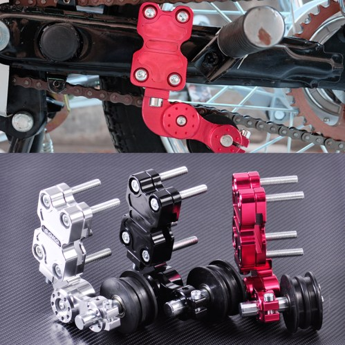 small resolution of details about aluminum chain tensioner bolt on roller adjust motorcycle dirt bike atv chopper