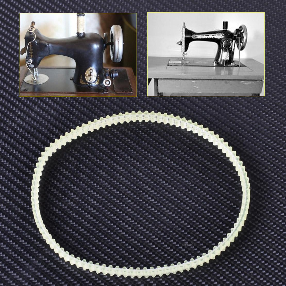 hight resolution of details about 13 33cm quality older model home sewing machine motor belt fit singer kenmore