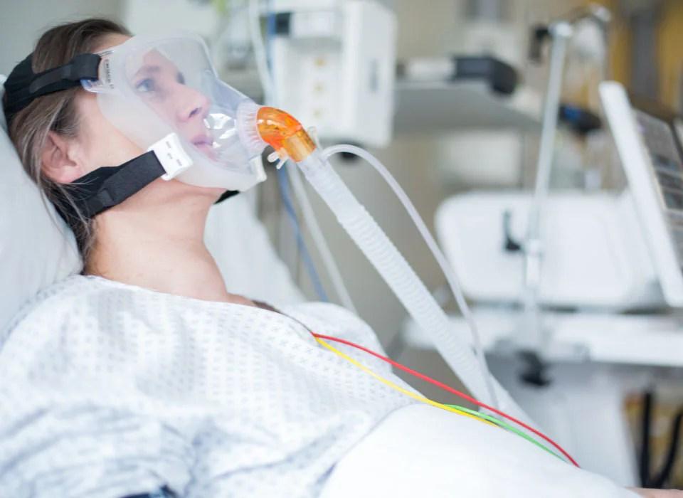 Noninvasive ventilation (NIV) improving patient's outcomes