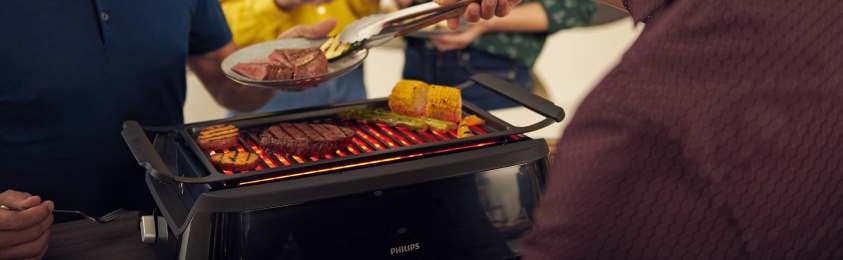 Philips Indoor Smokeless Grill amazon