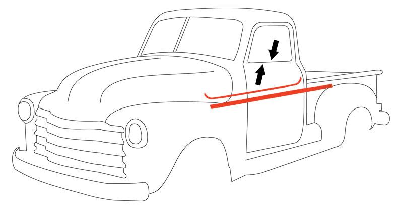 1947 chevy 3100 pickup trucks