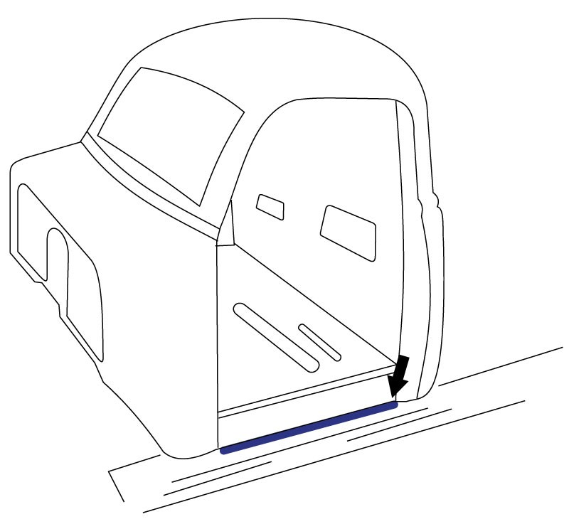 1956 Ford Truck Drawings Sketch Coloring Page