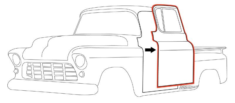 1947 chevy 4 door truck