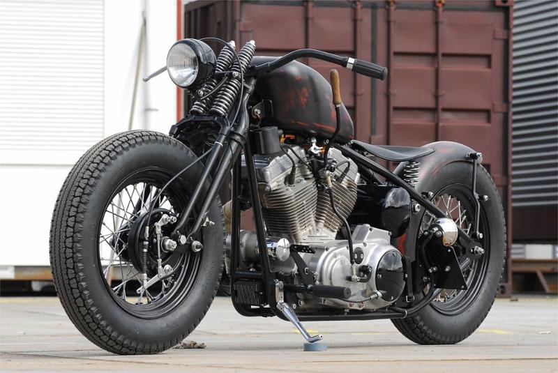 Bobber Motorcycle Handlebars