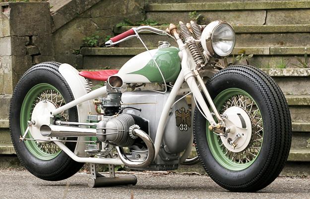 BMW Bobber Mototcycle