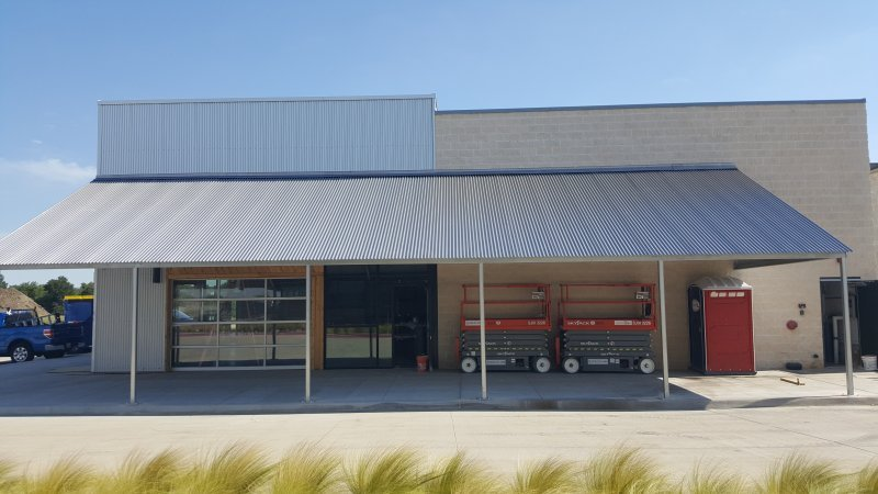 Metal Car Canopies  Metal Awnings in Dallas TX  USA Canvas Shoppe