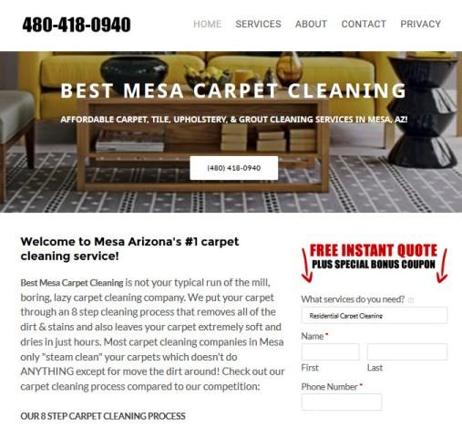 carpet cleaning mesa arizona