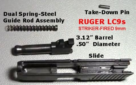 Review The Ruger Lc9s 9mm Striker Fired Concealed