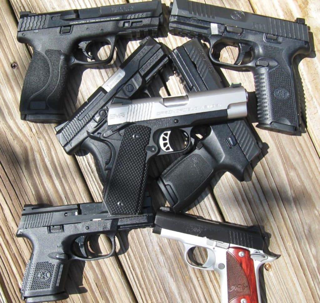 12 new handguns for