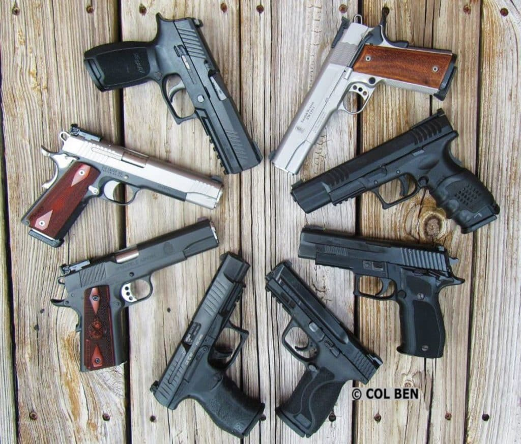 Home Defense Pistols Considerations Characteristics