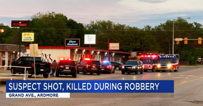 Dispensary Employee Shoots Armed Robber Dead