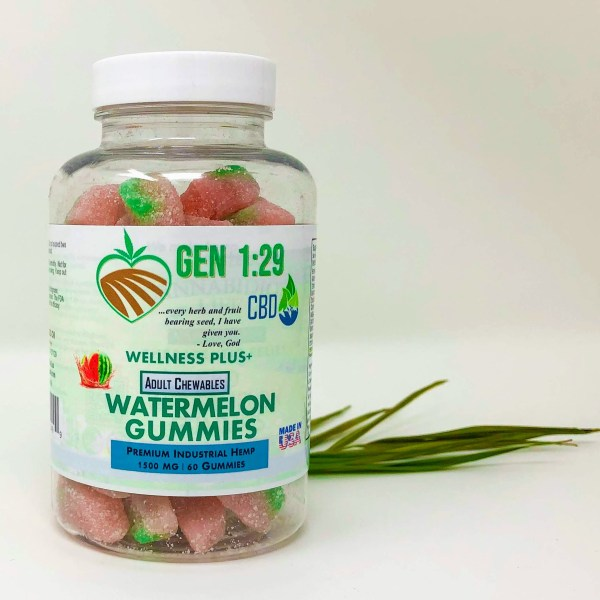 Gen 1:29 CBD Gummies watermelon
