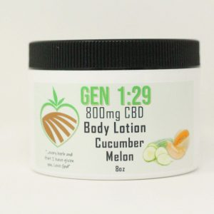 Cucumber melon CBD body cream