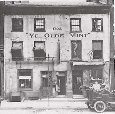"Original ""Ye Olde Mint"" Philadelphia"