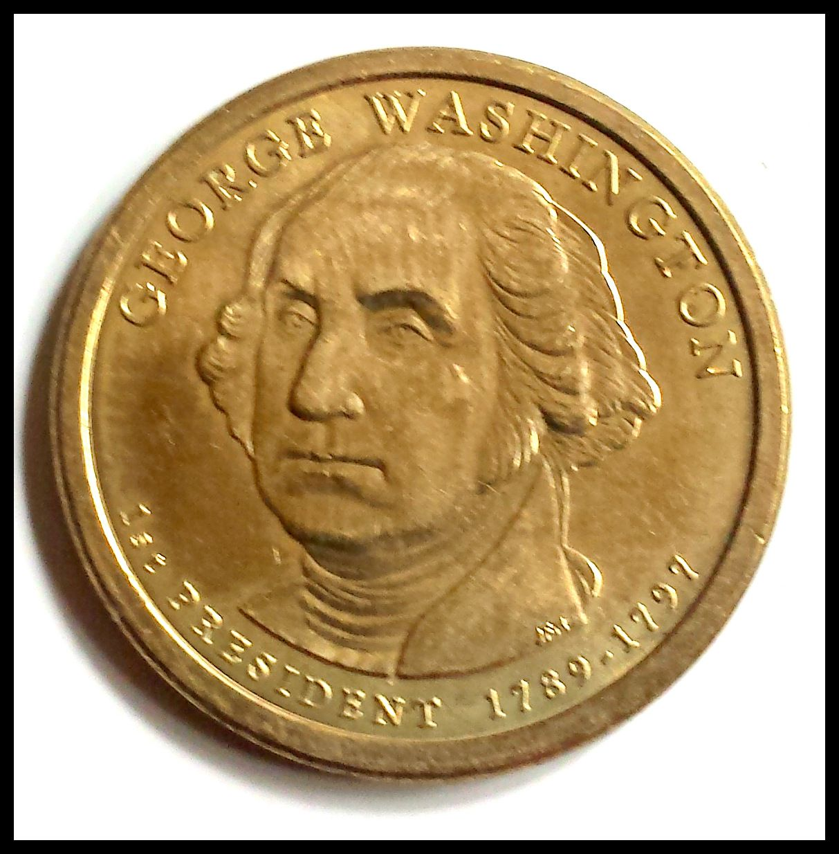 George Washington Brilliant Uncirculated 1st