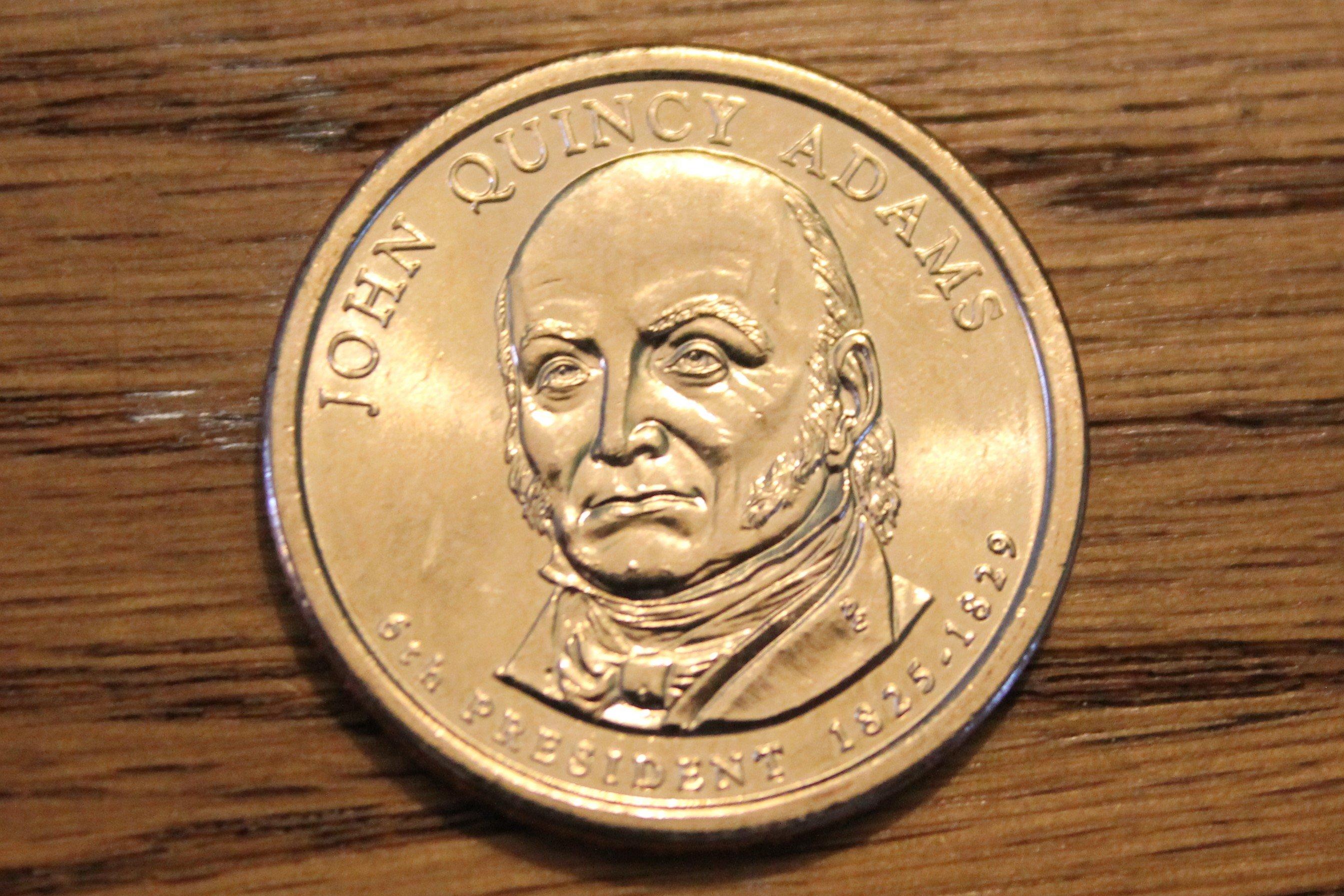 P John Quincy Adams Presidential Dollar