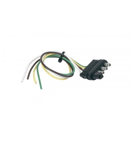Hopkins 4 Pole Trailer End Connector with 12