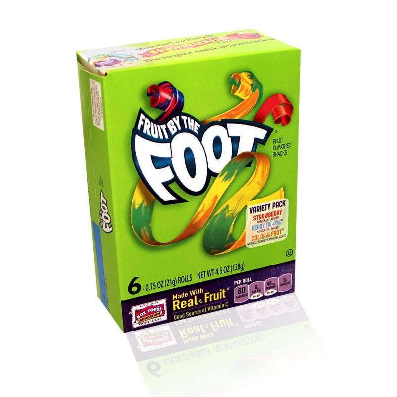Fruit Roll Fruit Foot