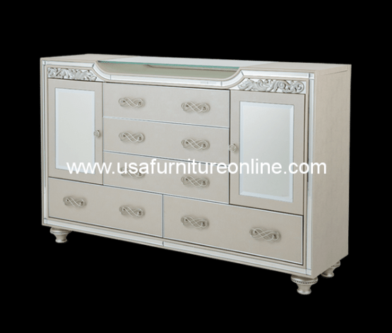 Bel Air Park Upholstered Dresser