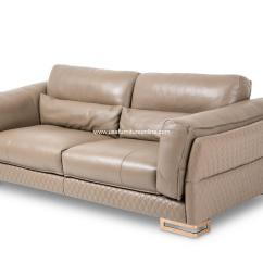 Gold Leather Sofa Set And Loveseat Monica Taupe Rose Leg  Usa Furniture Online