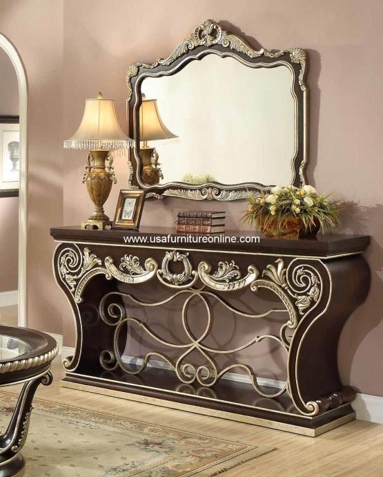 Homey Design HD-213 Console Table