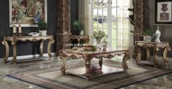 Vendome In Gold Patina Coffee Table Set