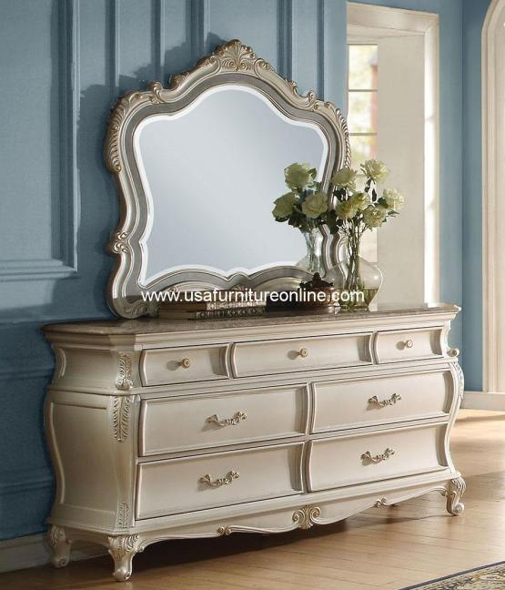 Chantelle Dresser With Granite Top
