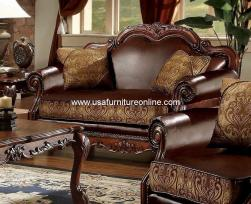 Dresden Cherry Oak Loveseat