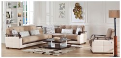 Dogal Sleeper Sectional With Storage Naomai Light