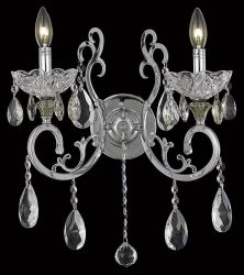 2 Lights Wall Sconce Chandelier 2830 Aria Collection