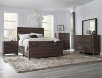 4 Piece Townsend Solid Wood Panel Storage Bedroom Set By ...