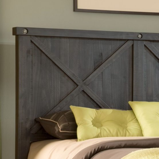 4 Piece Yosemite Solid Wood Panel Bedroom Set By Modus