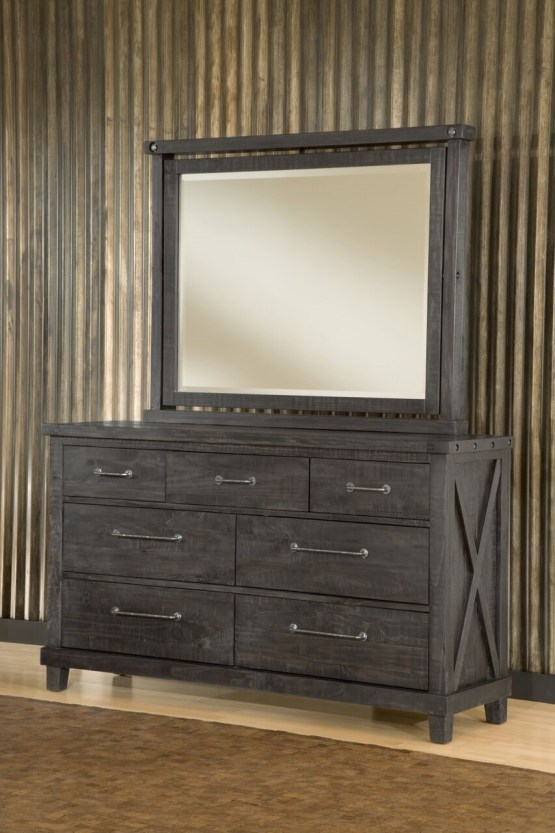 Yosemite Solid Wood Dresser Mirror By Modus Usa Furniture Online