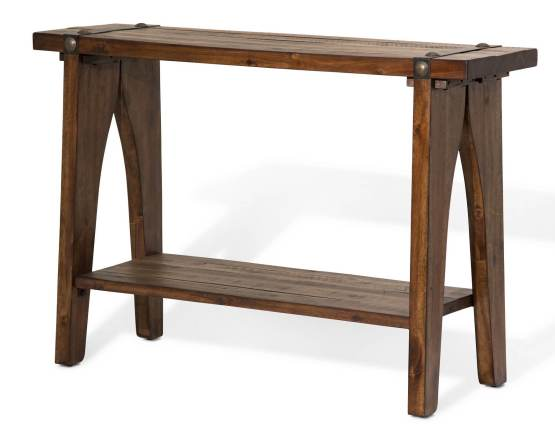 Big Sky Square Console Table