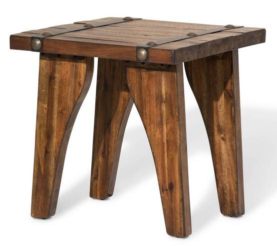 Big Sky Square End Table