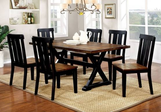 7 Piece Alana Rectangular Dining Set