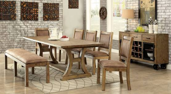 Furniture Of America Gianna Dining Set