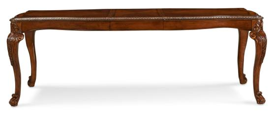 Old World Extendable Leg Dining Table