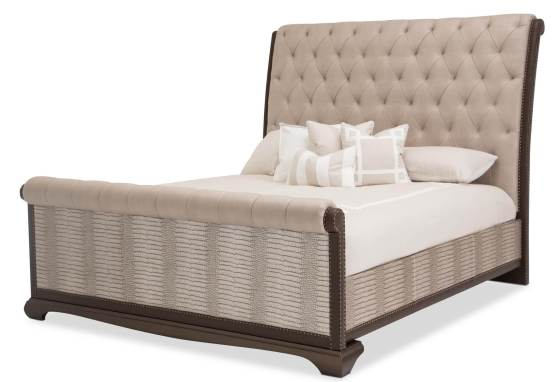 Valise Upholstered Tan Gator Bed