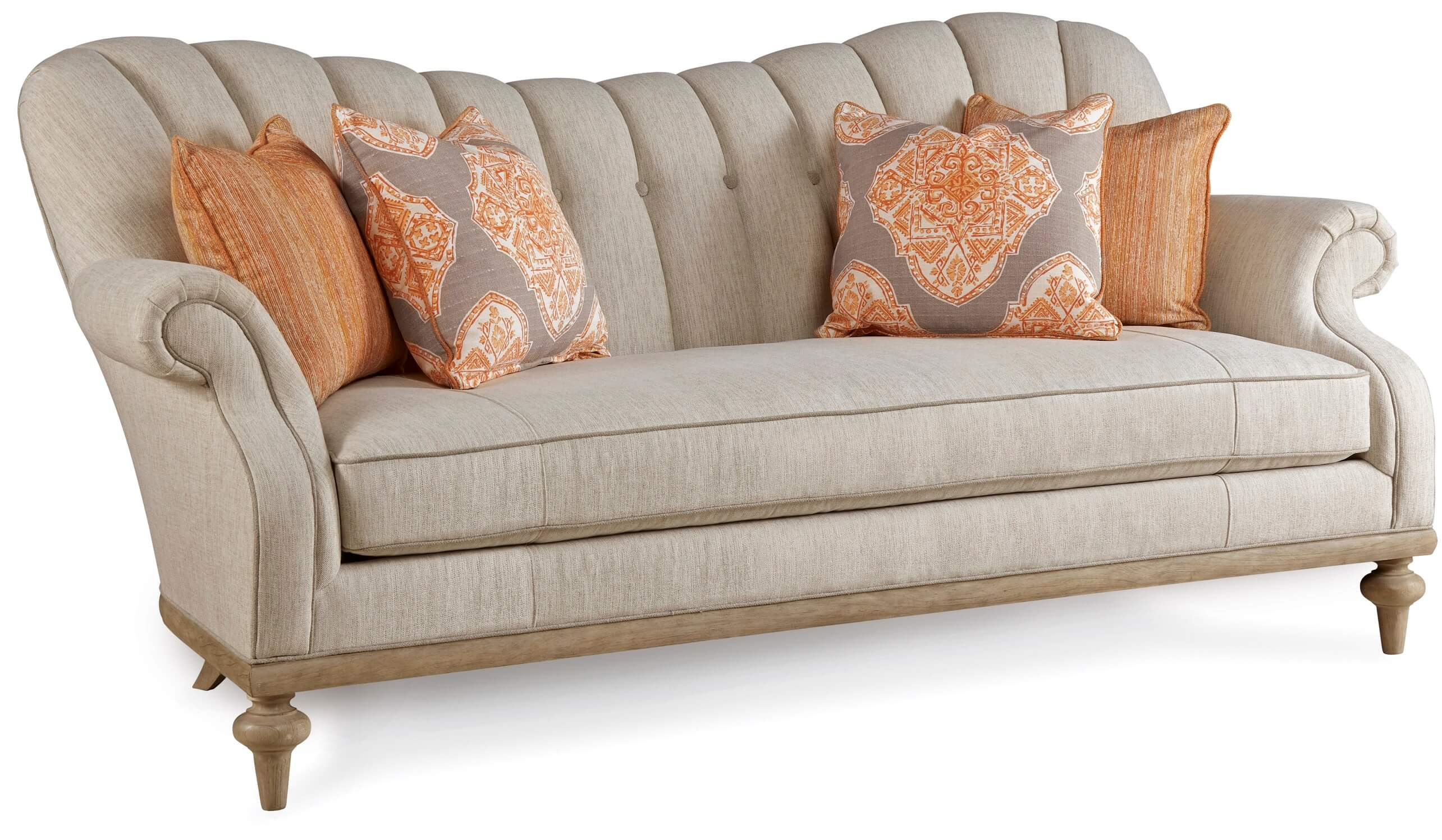 Phenomenal Collection One Brewster Channel Back Sofa By A R T Ibusinesslaw Wood Chair Design Ideas Ibusinesslaworg