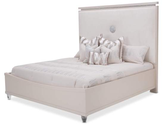 Glimmering Heights Upholstered Platform Bed