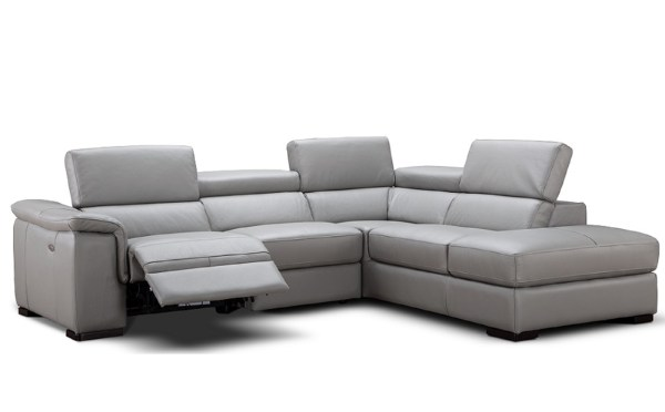 Italian Leather Sectional Sofa