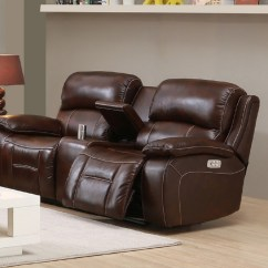 Leather Power Reclining Sofa And Loveseat Sets Bonded Sectional Westminster Top Grain