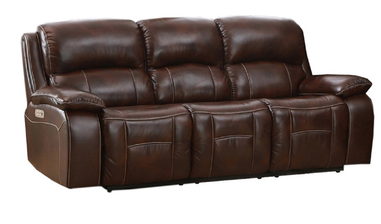 Westminster Top Grain Leather Power Reclining Sofa Power