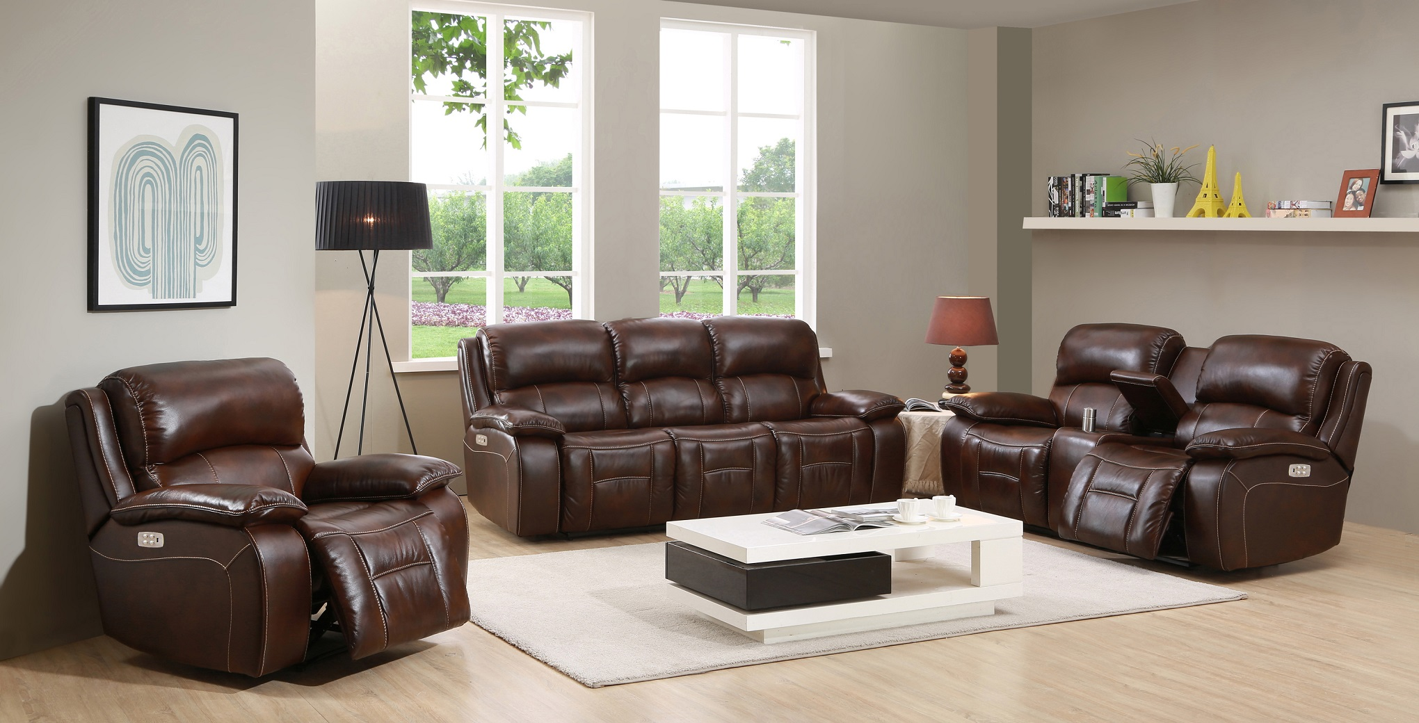 best power reclining sofa set hannon leather motion westminster top grain