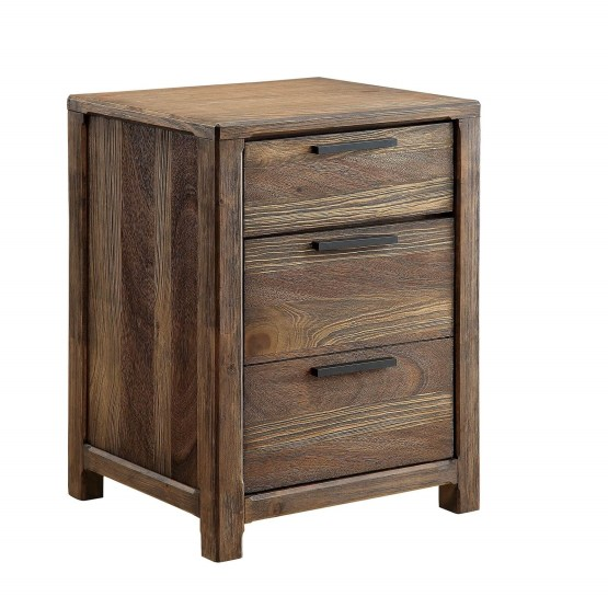 Hutchinson 3 Drawer Nightstand CM7576N