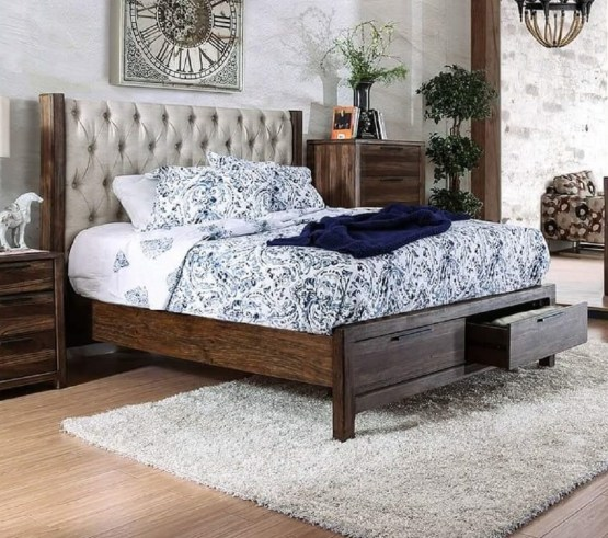 Hutchinson Bed Furniture Of America CM7577